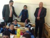 وكيل وزارة التربية والتعليم بشمال سيناء يتفقد 4 مدارس بالعريش