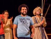 """السبت.. استئناف عرض """"الخروج عن النص"""" للمخرج كريم سامى على مسرح الهناجر"""