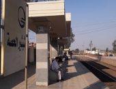 """بالفيديو والصور.. أهالى """"شبشير"""" بالغربية يتضررون من إهمال محطة السكة الحديد"""