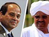 الرئيسان السيسي والبشير يصلان القصر الجمهورى بالخرطوم