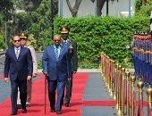 الرئاسة: السيسي يشارك اليوم فى ختام أعمال مؤتمر الحوار الوطنى السودانى