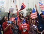 """بالصور.. 5 مشاهد لن تراها فى الانتخابات الأمريكية أهمها """"الرقص"""" وبشرة خير"""