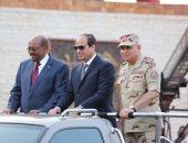 """السيسى بـ""""احتفالات أكتوبر"""": سنعمل على تحقيق التنمية التى يأملها المصريون"""