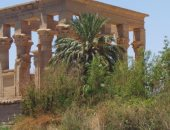 """""""الأعلى للآثار """" تؤكد الانتهاء من أعمال تطوير منطقة معابد فيلة بأسوان"""