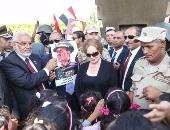 جيهان السادات:أكتوبر اختزل فى الضربة الجوية ولم أدع لاحتفالاته طوال30 عاما