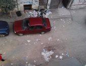 بالصور.. تراكم القمامة بشارع مسجد السلام فى مدينة الزقازيق