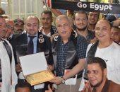 """بالصور..""""القوى العاملة"""" :الجالية المصرية بقطر تحى ذكرى انتصارات أكتوبر المجيدة"""