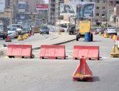 تعزيز الخدمات المرورية فى محيط إصلاحات طريق القاهرة - الإسماعيلية منعا للزحام