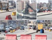 المرور: إغلاق جزئى بسبب أعمال إصلاحات أعلى كوبرى فيصل لمدة يومين