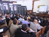 """بدء جلسة محاكمة """"بديع"""" و738 آخرين فى قضية """"فض اعتصام رابعة"""""""