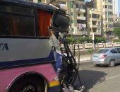 إصابة 10 طلاب فى حادث انقلاب سيارة بطريق أبشواى فى الفيوم