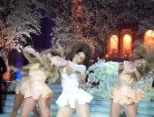 بالفيديو.. 36 مليون مشاهدة لفتاة فاجأت زوجها برقصة لبيونسيه فى زفافهما