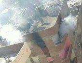 السيطرة على حريق نشب داخل شقة سكنية فى الصف دون إصابات