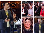 صابر الرباعى يتألق فى حفل ذكرى نصر أكتوبر بشرم الشيخ بحضور النواب