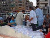 بالصور ..محافظة الدقهلية تبيع سكر بسعر 5 جنية للكيلو