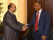 محافظ الاسكندرية يستقبل قنصل السودان لبحث التعاون فى الاقتصاد والزراعة