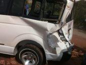"""""""الصحة"""" تعلن وفاة 14 مواطنا وإصابة 10 آخرين فى حادث تصادم بطريق الاوتوستراد"""