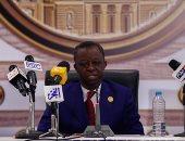 بالصور..  رئيس البرلمان الإفريقى للمصريين: حافظوا على السيسى وجيش مصر من أجل أفريقيا
