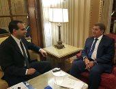 """وزير المالية لـ""""اليوم السابع"""":بحثنا التعاون المشترك مع الكويت بصندوق النقد"""