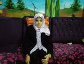 بالفيديو والصور ..هبة الله عز العرب أول طالبة معاقة تلتحق بإعلام بنى سويف