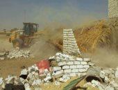 إزالة 40 حالة تعد على الأراضى الزراعية فى المنوفية