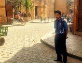 انتداب خبراء المعمل الجنائى لكشف ملابسات حريق محل بشارع المعز