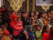 بالصور.. عرض فيلم تسجيلى لمراحل إعادة إعمار عزبة النصارى بحضور أبوهشيمة و3 وزراء