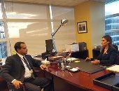 """سحر نصر لـ""""اليوم السابع"""":طلبنا استضافة مصر لاجتماعات بنك التنمية الإسلامى"""