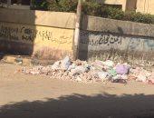 بالصور.. سكان منطقة الحناوى يشكون من تراكم القمامة أمام مدرسة بالزقازيق