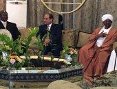السيسى يصل الخرطوم لحضور الجلسة الختامية لمؤتمر الحوار الوطنى السودانى