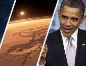 """""""الهروب إلى المريخ"""".. أوباما يتجاهل اخفاقات السياسية وينشر مقال بـ""""CNN"""" عن حلمه الفضائى.. الرئيس الأمريكى يتعهد بإرسال البشر للفضاء خلال 15 عاما.. ويؤكد: إدارتى وضعت خطة لاكتشاف مجموعتنا الشمسية بعمق"""