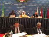 البرلمانان العربى والإفريقى يؤكدان دعم ومساندة حق الشعوب فى تقرير مصيرها