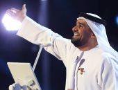 حسين الجسمى ومطرف المطرف فى حفل غنائى مهرجان فبراير الكويت