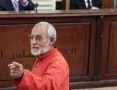 """اليوم.. الحكم فى إعادة محاكمة """"بديع"""" وآخرين بـ""""أحداث مسجد الاستقامة"""""""