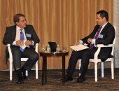 بالصور.. وزير المالية فى نيويورك: الاقتصاد المصرى قوى وسيحقق نموا مرتفعا