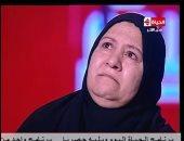"""والدة الشهيد التى أبكت الرئيس:"""" السيسى جبر بخاطرى ربنا يجبر بخاطره"""""""