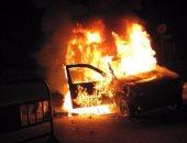 """النطق بالحكم اليوم على المتهم بـ""""حرق سيارة شرطة بحدائق حلوان"""""""