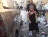 بالصور.. انتشار القمامة والمخلفات أمام مدرسة العقاد ببولاق الدكرور