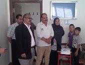 رئيس مدينة منوف يتفقد المستشفيات بالمركز