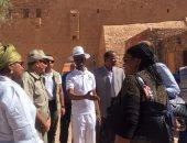 رئيس البرلمان الأفريقى يبدأ جولة سياحية فى دير سانت كاترين