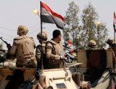 القوات الجوية توجه ضربات مركزة لمناطق إيواء عناصر تكفيرية فى سيناء