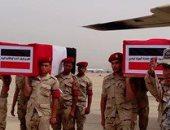 تامر حسنى ودرة وإكرامى وغادة عبد الرازق ينعون الشهداء: فى الجنة يا أبطال