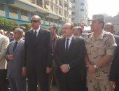 محافظ بنى سويف: الإرهاب لن ينال من عزيمة رجال القوات المسلحة والشرطة