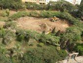سكان مكرم عبيد يشكون تحويل الحديقة الرئيسية لملعب كرة قدم