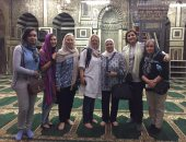 بالصور.. سفيرة السويد تزور المواقع الأثرية بالدرب الأحمر والسيدة عائشة
