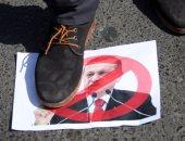 أردوغان تحت الجزمة  فى مظاهرات عشائر العراق بالموصل