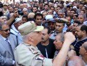 قائد الدفاع الجوى للجيش الثانى يعزي أسرة شهيد المنوفية
