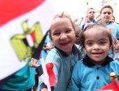 جمعية رسالة تحتفل باليوم العالمى للابتسامة بالتعاون مع وزارة الآثار