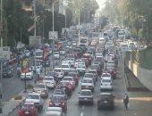 توقف حركة المرور بسبب أعطال سيارات بنفق الأزهر