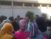 طلاب الثانوية العامة ينظمون وقفة أمام الوزراء للمطالبة بقبول التحويلات